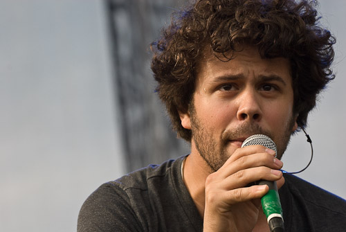 Michael Angelakos, Passion Pit - Photo © Manuel Nauta