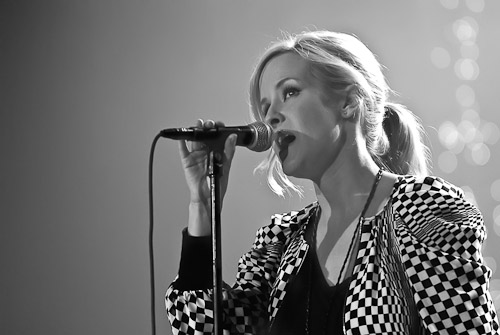 Martie McGuire at The Paramount Theater 2008. Photo by Manuel Nauta