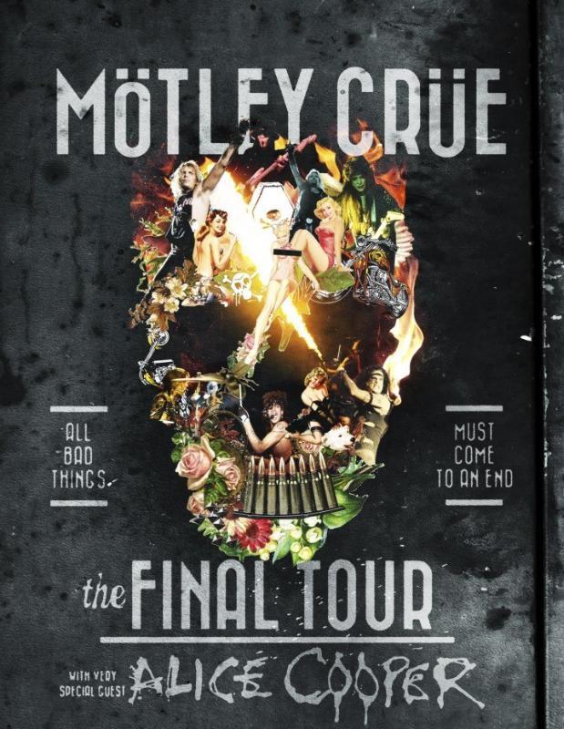 MOTLEY CRUE ANNOUNCE DETAILS FOR THE FINAL SHOW (PRNewsFoto/Live Nation Entertainment)