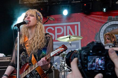 Courtney Love, 2010 / Photo © Manuel Nauta