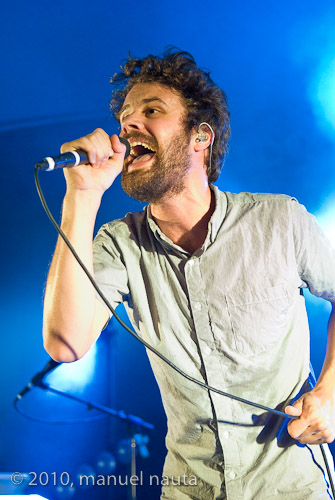 Passion Pit: Michael Angelakos - Photo © Manuel Nauta