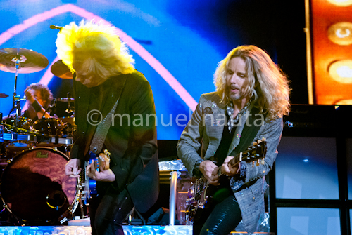 Styx - James Young (L) and Tommy Shaw (R) © Manuel Nauta
