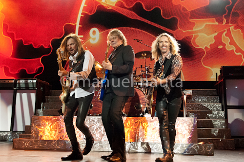 Styx - Ricky Philips (L), James Young (C) and Tommy Shaw (R) © Manuel Nauta