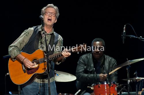 """Eric Clapton """" Old Sock"""" tour Houston Texas © Manuel Nauta"""