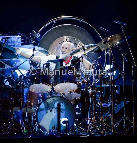 Mick Fleetwood with Fleetwood Mac