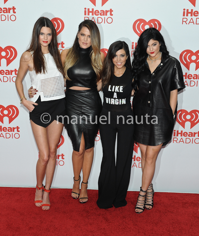 Kardashian and Kylie Jenner at iHeartRadio Festival
