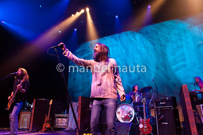 The Black Crowes perform in concert at ACL Live at Moody Theater on September 28, 2013 in Austin, Texas.