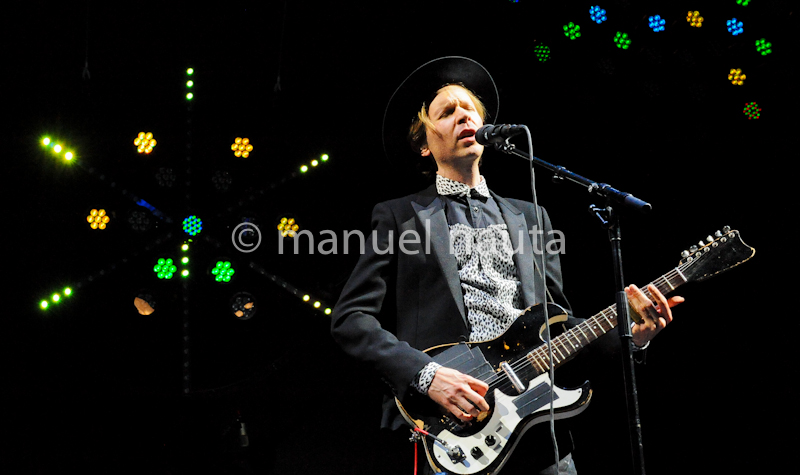 Beck performs at Life Is Beautiful Festival 2013 in Las Vegas - Photo © Manuel Nauta