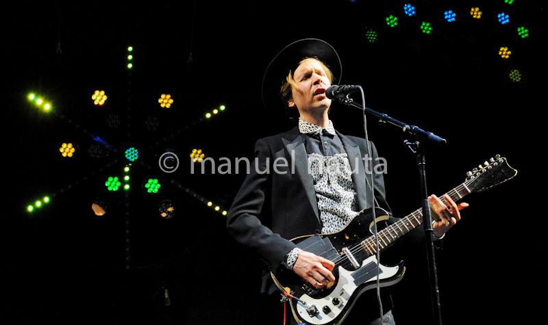 Beck performs at Life Is Beautiful Festival 2013 in Las Vegas - Photo © Manuel Nauta