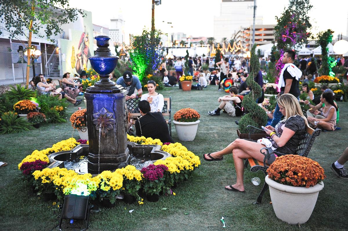 Life is Beautiful festival on October 27, 2013 in Las Vegas, Nevada. Photo © Manuel Nauta