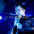 Brendon Urie performs with his band Panic! at the Disco in concert at Emo's on February 12, 2