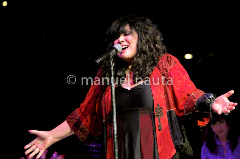 Ann Wilson of Heart performs at the San Antonio Stock Show and Rodeo on February 14, 2014 in San Antonio, Texas. © Manuel Nauta