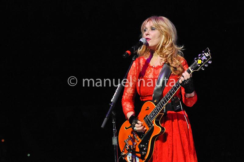 Musician Nancy Wilson of Heart at the San Antonio Stock Show and Rodeo  on February 14, 2014 in San Antonio, Texas. © Manuel Nauta