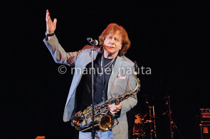 Singer Eddie Money performs in concert at the Aztec Theater on February 16, 2014 in San Antonio, Texas - USA. © Manuel Nauta