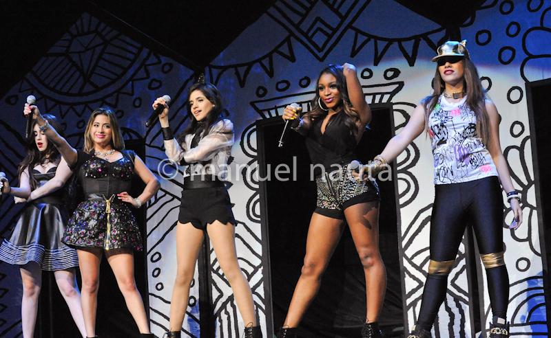 Fifth Harmony -  (L-R) Camila Cabello, Ally Brooke Hernandez, Normani Hamilton, Dinah Jane Hansen and Lauren Jauregui