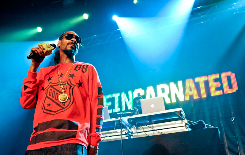 Rapper Cordozar Calvin Broadus Jr. known by his stage names as Snoop Dogg and Snoop Lion on his Reincarnation Tour performs in concert during the SXSW Music Festival at Emo's on March 11, 2014 in Austin, Texas - USA. (photo @ Manuel Nauta)