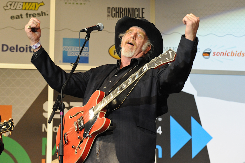 Ray Benson performs at the Austin Music Awards during SXSW on March 12, 2014 in Austin, Texas - USA.