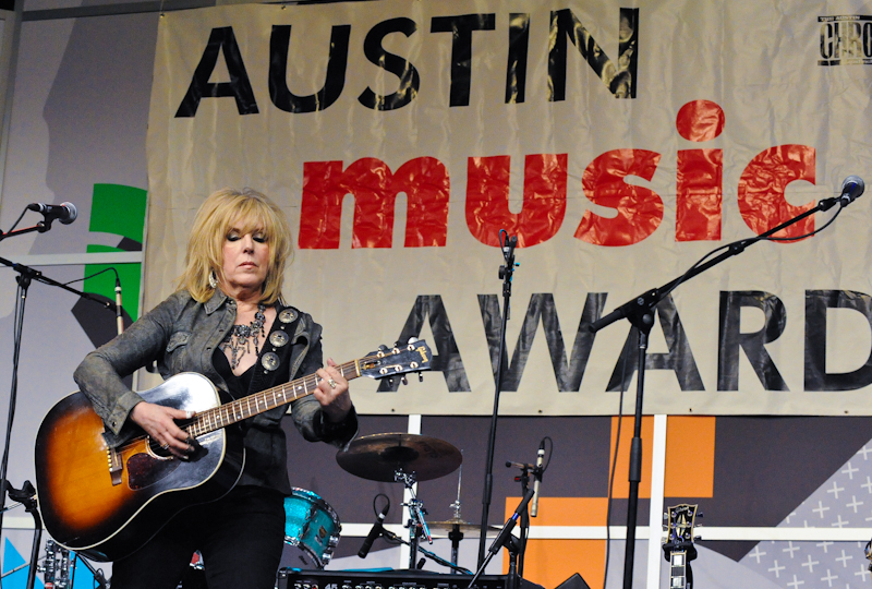 Lucinda Williams at the Austin Music Awards during SXSW on March 12, 2014 in Austin, Texas - USA. © Manuel Nauta
