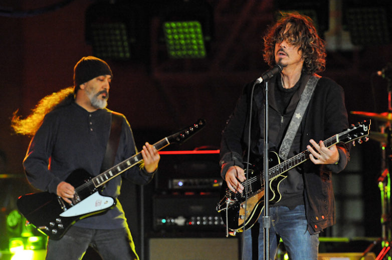 Kim Thayil (L) and Chris Cornell © Manuel Nauta