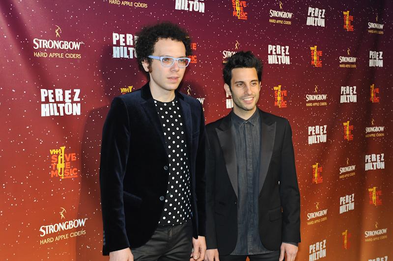 Ian Axel (L) and Chad Vaccarino of A Great Big World @ Manuel Nauta