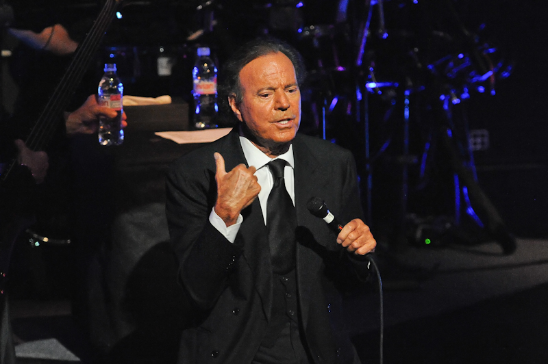 Julio Iglesias at ACL Live in Austin Texas © Manuel Nauta