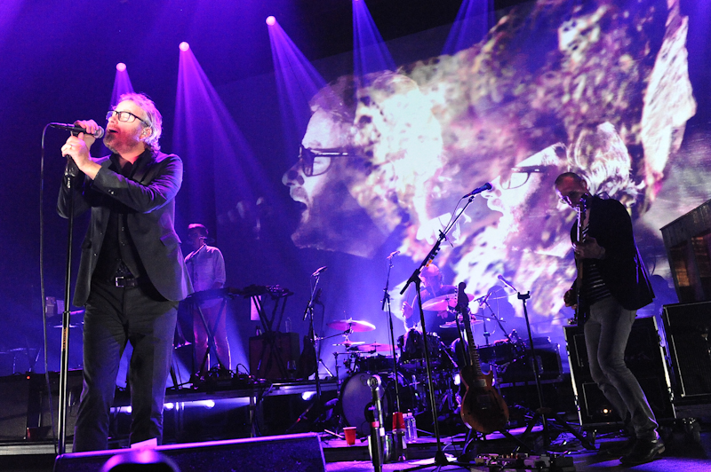 Matt Berninger of The National performs in concert at ACL Live at Moody Theater / Photo © Manuel Nauta