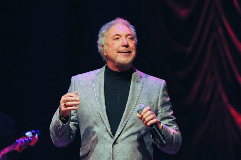 Sir Tom Jones performs at ACL Live in Austin Texas / Photo © Manuel Nauta
