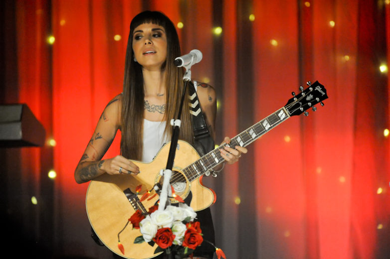 Christina Perri at Emo's in Austin Texas / Photo © Manuel Nauta