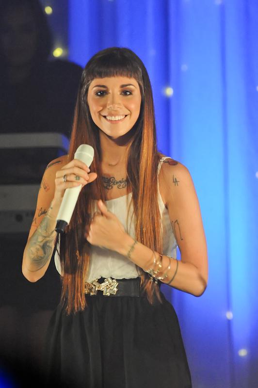 Christina Perri at Emo's in Austin Texas / Photo © Manuel Nauta