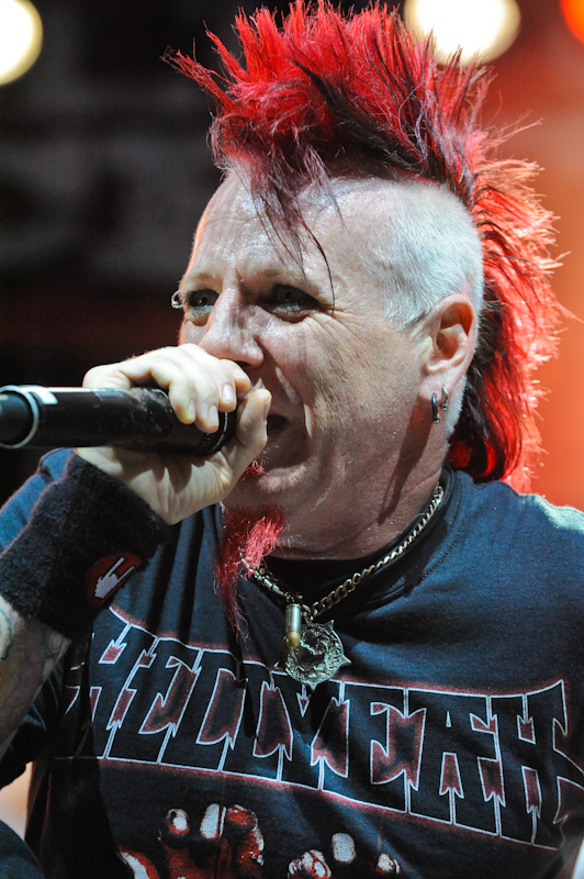 Chad Gray with Hellyeah  / Photo © Manuel Nauta