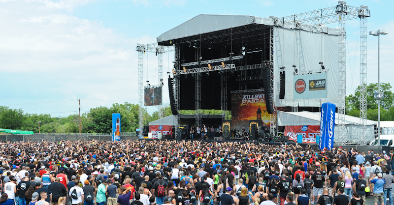 Killswitch Engage performs during River City Rockfest / Photo © Manuel Nauta