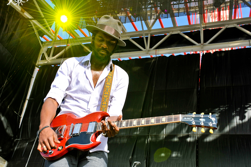 Gary Clark Jr. at X Games Austin / Photo © Manuel Nauta