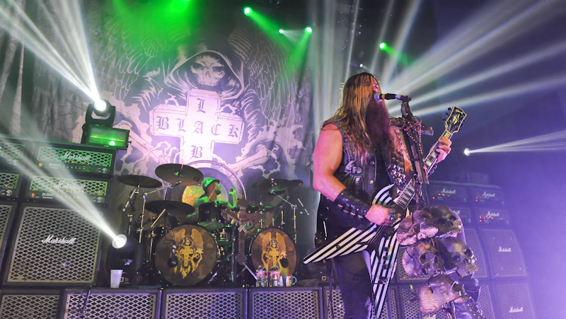 Zakk Wylde with Black Label Society at Emo's in Austin, Texas / Photo © Manuel Nauta