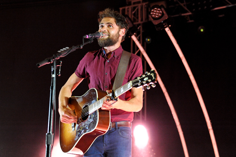Michael David Rosenberg, known by his stage name Passenger at Stubb's / Photo Manuel Nauta