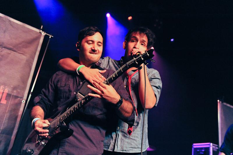 Dan Candia  (L) and Matt Carlson with Falling Through April / Photo © Manuel Nauta