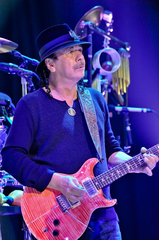 Carlos Santana at ACL Live at Moody / Photo © Manuel Nauta