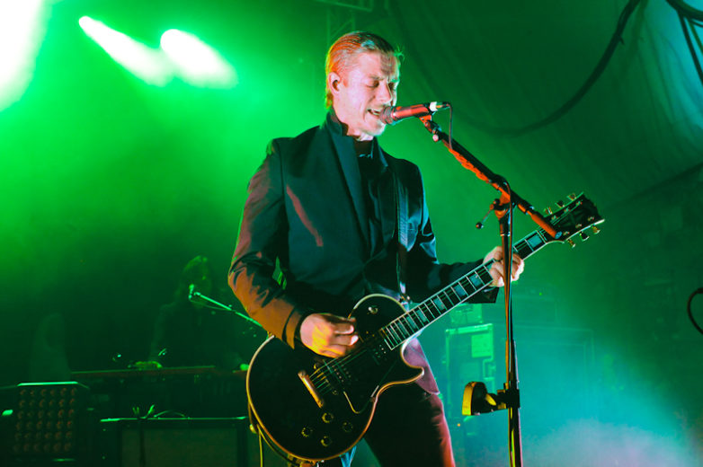 Paul Banks with Interpol in concert during an ACL (Austin City Limits) Music Festival Late Night Show at Stubb's on October 5, 2014 in Austin, Texas. / Photo © Manuel Nauta