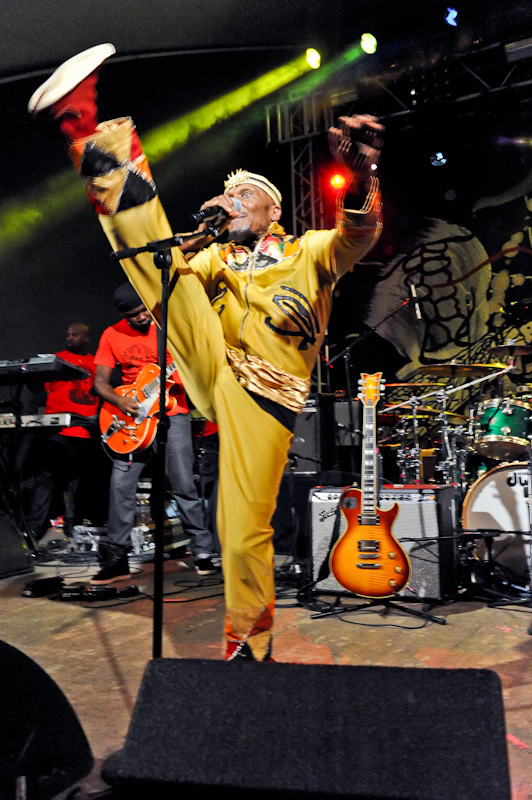 Jimmy Cliff in concert at Stubb's in Austin, Texas - Photo © Manuel Nauta