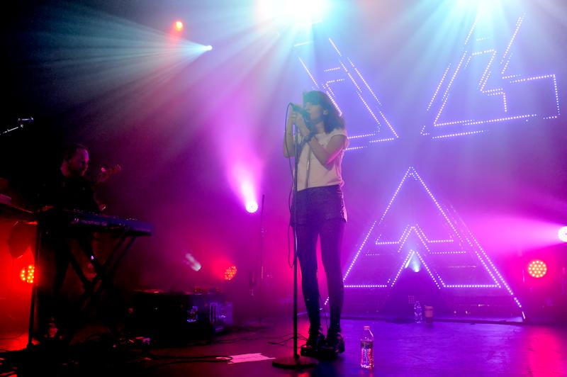 Lauren Mayberry with CHVRCHES in Austin, Texas / Photos © Manuel Nauta