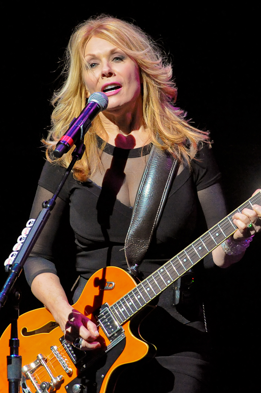 Nancy Wilson of the band Heart performs at ACL Live on November 16, 2014 in Austin, Texas. Photo © Manuel Nauta