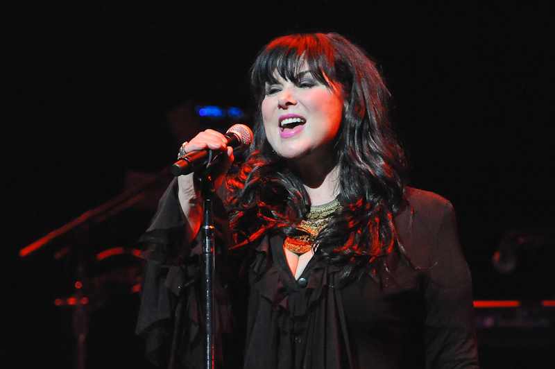 Ann Wilson of the band Heart performs at ACL Live on November 16, 2014 in Austin, Texas. Photo © Manuel Nauta