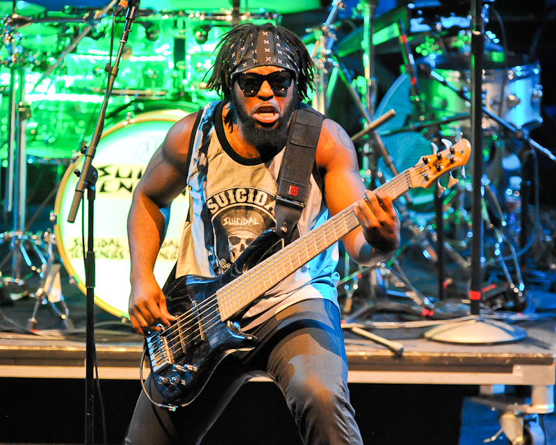 Michael Morgan performs in concert with Suicidal Tendencies at ACL Live on November 18, 2014 in Austin, Texas. Photo © Manuel Nauta