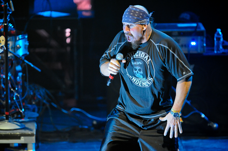 Mike Muir of Suicidal Tendencies performs at ACL Live on November 18, 2014 in Austin, Texas. Photo © Manuel Nauta