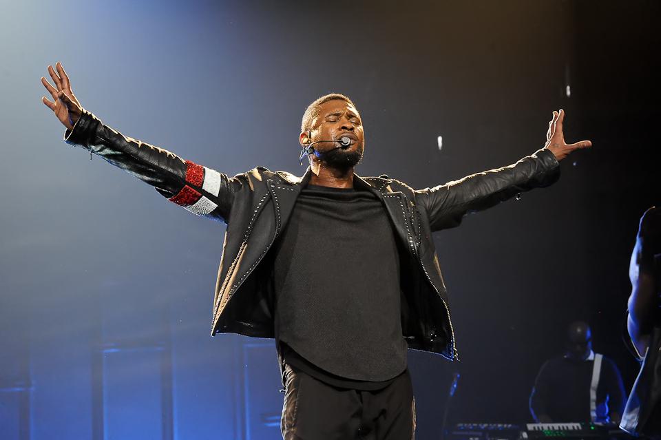 Usher - The UR Experience tour, Houston. Photo @ Manuel Nauta