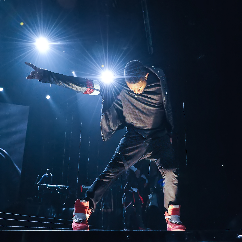 Usher - The UR Experience tour, Houston. Photo @ Manuel Nauta
