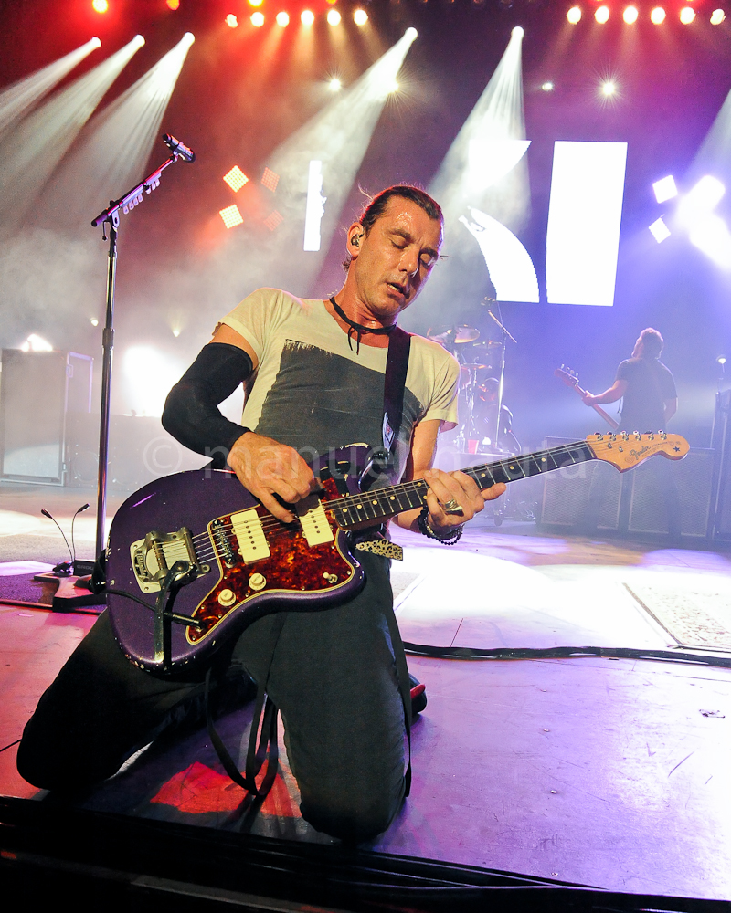 Gavin Rossdale with the band BUSH performs in concert at The Majestic Theater on March 14, 2015 in San Antonio, Texas. Photo © Manuel Nauta