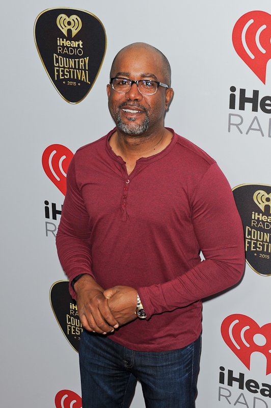Recording artist Darius Rucker attends the 2015 iHeartRadio Country Festival at The Frank Erwin Center on May 2, 2015 in Austin, Texas.  Photo © Manuel Nauta