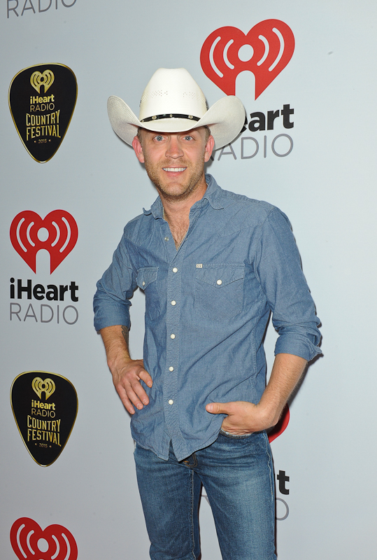 Recording artists Justin Moore attends the 2015 iHeartRadio Country Festival at The Frank Erwin Center on May 2, 2015 in Austin, Texas.  Photo © Manuel Nauta