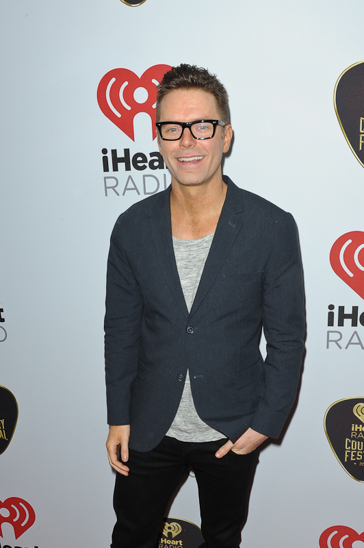 Country music personality Bobby Bones attends the 2015 iHeartRadio Country Festival at The Frank Erwin Center on May 2, 2015 in Austin, Texas.  Photo © Manuel Nauta