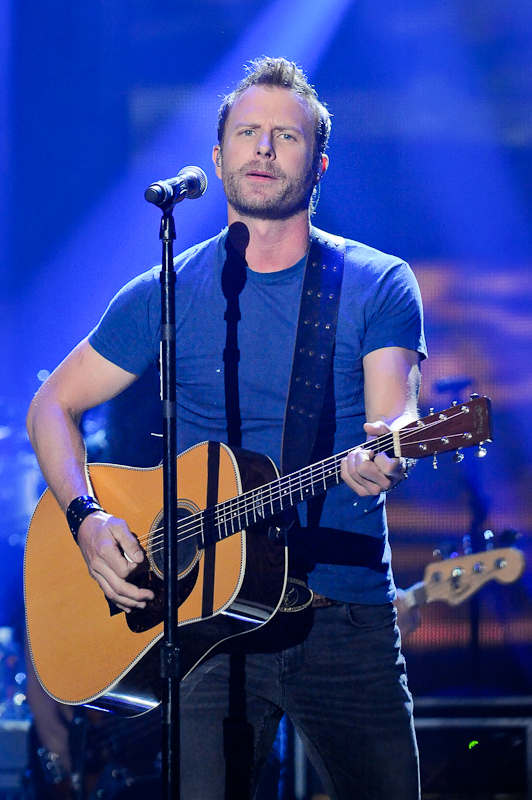 Recording artist Dierks Bentley performs onstage during the 2015 iHeartRadio Country Festival at The Frank Erwin Center on May 2, 2015 in Austin, Texas.  Photo © Manuel Nauta